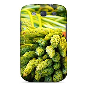 Cute Tpu MichelleNCrawford Vegetables Case Cover For Galaxy S3