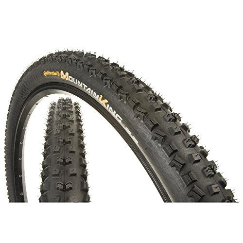 Continental Mountain King II Fold ProTection Bike Tire, Black, 29-Inch x - Tire Fold Bike
