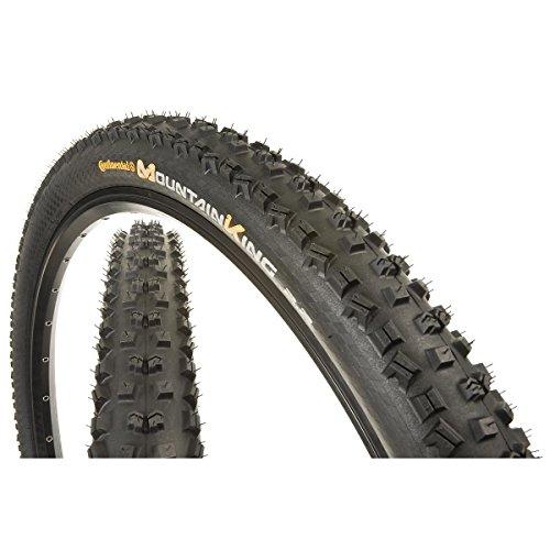 Continental Mountain King - Continental Mountain King II Fold ProTection Bike Tire, Black, 29-Inch x 2.2