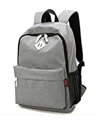 Jessilove Simple Casual Backpack Durable Classic Rucksack Bookbag Lightweight Water Resistant Travel Backpack...