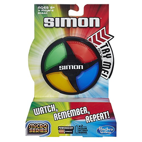 Simon Micro is a fun electronic game for tweens