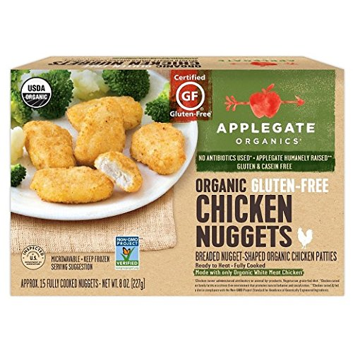 Applegate Naturals Gluten Free Chicken Nuggets, 8 Ounce (Pack of 12) by Applegate