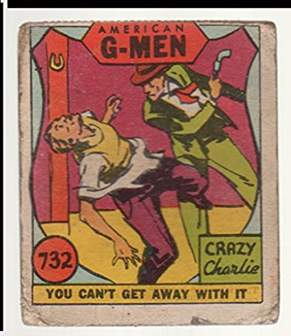 1930 Anonymous American G-Men (R13) (Non-Sports) Card# 732