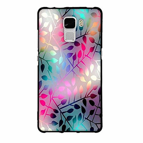 Funda Huawei Honor 7, FUBAODA [Flor rosa] caja del teléfono elegancia contemporánea que la manera 3D de diseño creativo de cuerpo completo protector Diseño Mate TPU cubierta del caucho de silicona sua pic: 24