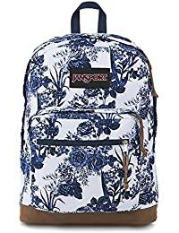 Right Pack Expressions Laptop Backpack - White Artist Rose