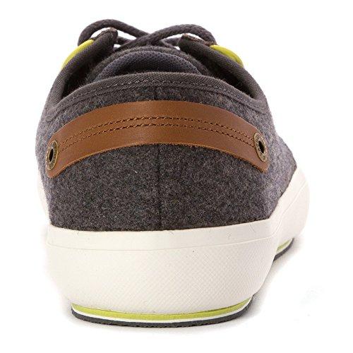 Lacoste Mens Saulieu Chunky Mode Sneaker Grå