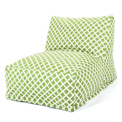 Majestic Home Goods Sage Bamboo Bean Bag Chair Lounger by Majestic Home Goods