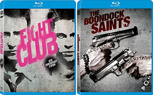 Boondock Saints & Fight Club [Blu-ray] Bundle Double feature Set