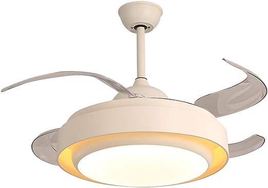 BingWS Lampara Ventilador Techo Luz de Techo de 42 Pulgadas con ...