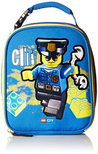 LEGO Kids City Police Lunch Backpack, Blue, One Size