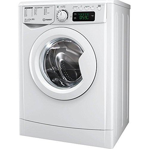 🥇 Indesit – Lavadora de carga frontal ewe 81252 w eu de 8 kg y 1.200 rpm
