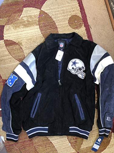Dallas Cowboys Suede Jacket GIII Football NFL Size M
