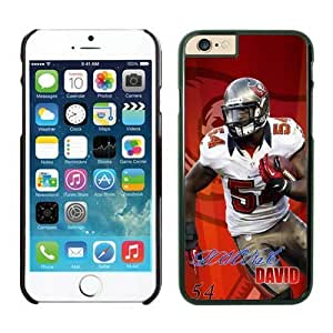 Tampa Bay Buccaneers Lavonte David Case Cover For Apple Iphone 6 Plus 5.5 Inch NFL Cases Black NIC13455