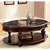 247SHOPATHOME IDF-4642C Coffee-Tables, Cherry