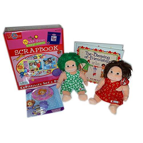 Ty, T.S. Shure, Disney Princess Sophia Crafts, Dolls, Nightlight - Girl's Gift Bundle Ages 3+ [4 Piece]