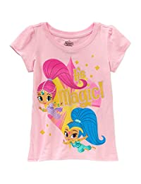 Nickelodeon Little Girls' Shimmer and Shine Tee