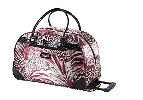 Kathy Van Zeeland Travel Rolling Duffel Bag Wheeled Carry-on Luggage - Buy  Online in UAE.  f9eee517e44a7