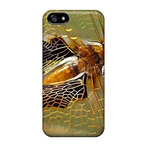 New Snap-on GoldenArea Skin Case Cover Compatible With Iphone 5/5s- Dragonfly