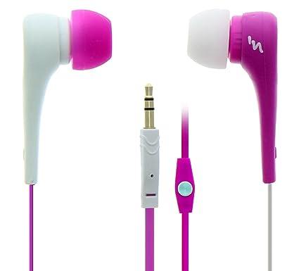 TnB ASYMETRIK Dentro de oído Binaural Inalámbrico Rosa, Blanco - Auriculares (Inalámbrico