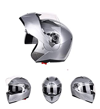 Goooolife Moto Crash Casco Modular Alta Seguridad-JIEKAI Full Face Racing Casco De Moto con
