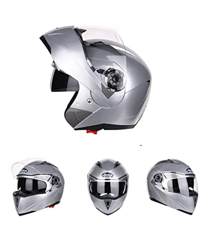 Goolife Moto Crash Casco Modular Alta Seguridad-JIEKAI Full Face Racing Casco De Moto con