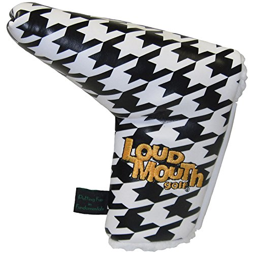 winning-edge-loudmouth-houndstooth-putter-headcover