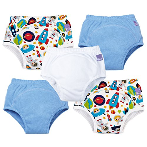 Bambino Mio, Potty Training Pants, Mixed Boy, Outer Space, 2-3 Years (5 Count)
