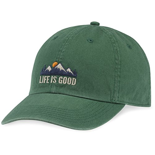 Life is good A Chill Cap, Forest Green, One Size