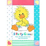 Little Suzy's Zoo Vintage Baby Shower Game Book (1ct)