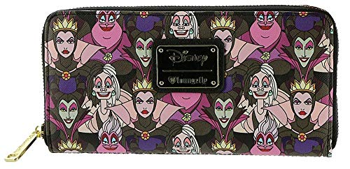 Loungefly x Disney Villains Print Wallet]()