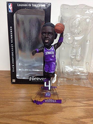 (Chris Webber Legends of the Court Sacramento Kings Bobblehead Bobble)