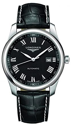Longines Master Collection Leather Automatic Mens Watch L27934517