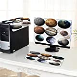 UHOO2018 One Machine LCD Monitor Keyboard Cover Isolated Planets in The Solar System