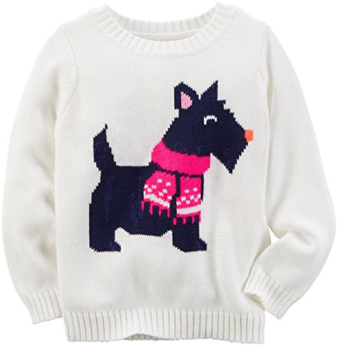 Carter's Baby Girls Sweater 235g446, Ivory, 9M