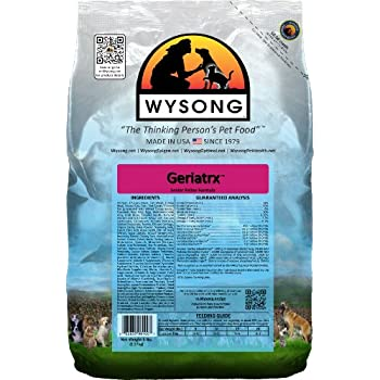 Wysong Geriatrx Senior Feline Formula Dry Cat Food - 5 Pound Bag