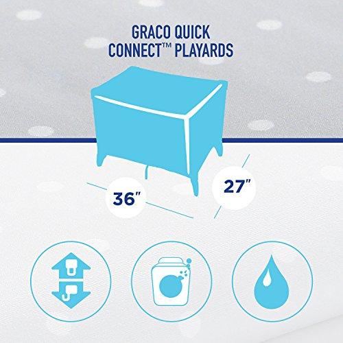 Dot Graco Quick Connect Waterproof Playard Sheets
