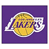 FANMATS 11332 NBA - Los Angeles Lakers Tailgater Rug , Team Color, 59.5''x71''