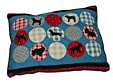 Aspen Pet Quilted Gussetted Pet Bed, 29-Inch by 40-Inch, Rover Pattern, My Pet Supplies