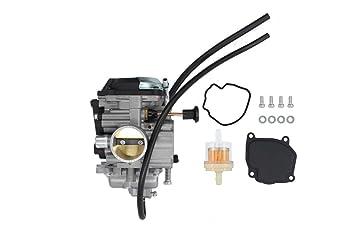 New Carburetor For Yamaha Bear Tracker 250 YFM250 YFM250X YFM250B 2WD on