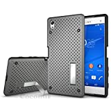 Sony Xperia Z5 Premium Case, Cocomii Cool Armor NEW [Heavy Duty] Premium Tactical Grip Kickstand Shockproof Hard Bumper Shell [Military Defender] Full Body Dual Layer Rugged Cover (Gray)