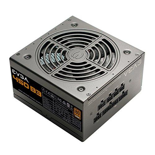 EVGA - B3 450W 80+ Bronze Certified Fully-Modular ATX Power Supply ...