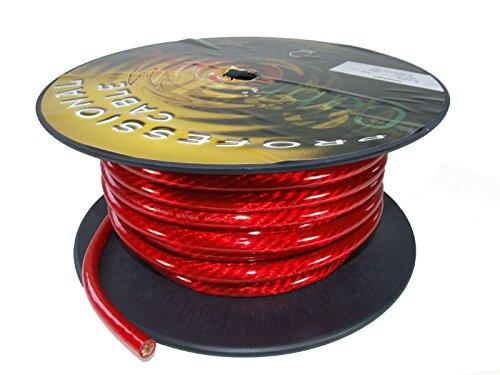 1m Batteriekabel Dietz 20 mm/² rot Meterware Stromkabel Leitung Litze Fahrzeugleitung KFZ Auto Kabel
