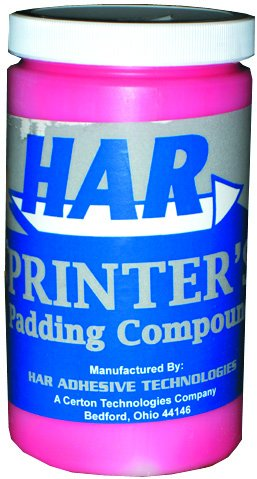 (HAR Padding Compound Red For Making Notepads - Quart)