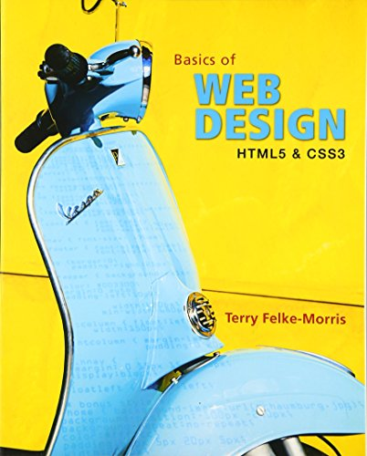 Basics of Web Design: HTML5 and CSS3 by Pearson