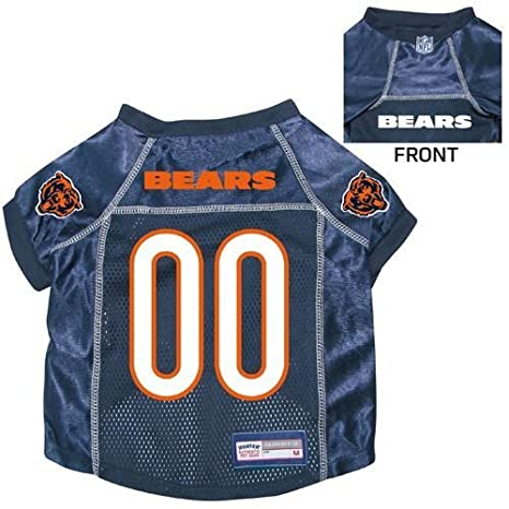 cheaper ab4dd c8d7e Chicago Bears Pet Dog Football Jersey SMALL