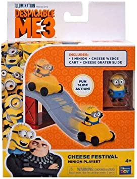 Amazon.com: Despicable Me Cheese Festival Slide Minion ...