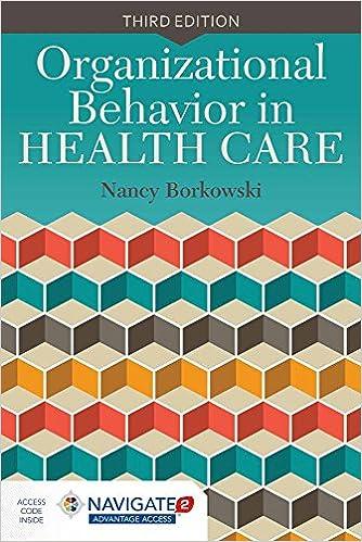 organizational behavior problems in healthcare