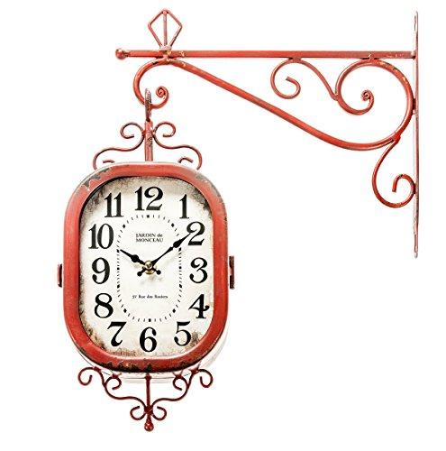 The Barrel Shack Amelie – Handmade Wall Clock from