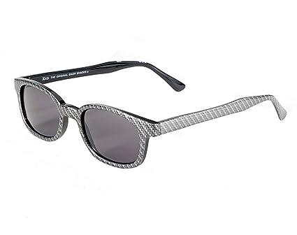 57c394ea5f Amazon.com  X-KD 1022 Carbon Fiber look frame with Smoke Lens Sunglass   Automotive