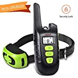 Dog Shock Collar with Remote, Waterproof Shock Collar for Dogs,Up to1500FT Range, Shock Collar for Large Dogs and Small Dogs, Beep Vibration and Shock, Rechargeable Dog Training Collar with Remote